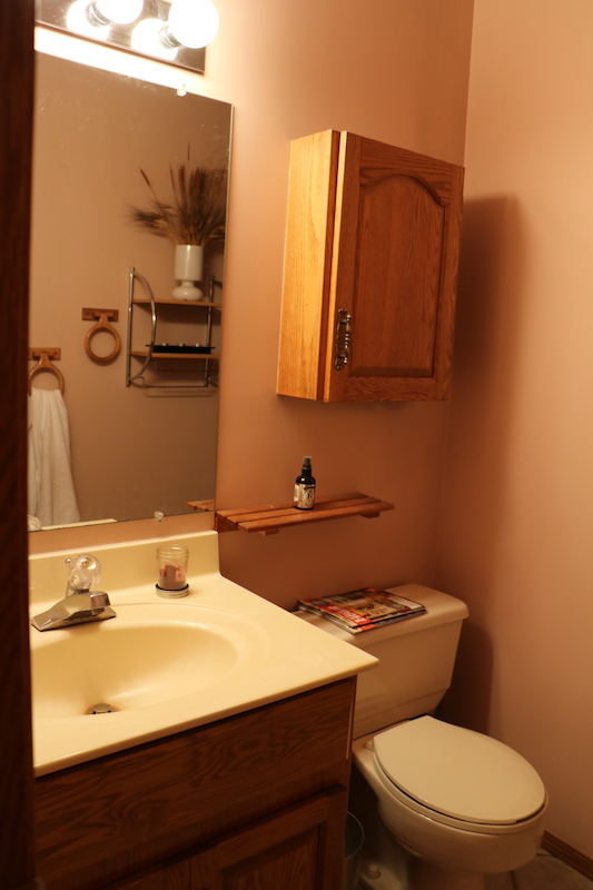 Another bathroom in the interim